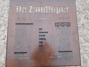 Infobord Uitzichttoren De Zandloper